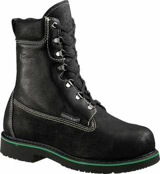HyTest 04035 Men's, Black, Steel Toe, EH, Internal Met, 10 Inch Boot