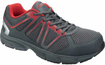 HYTEST 11473 HY-VIS, Men's, Grey, Steel Toe, EH, Low Athletic
