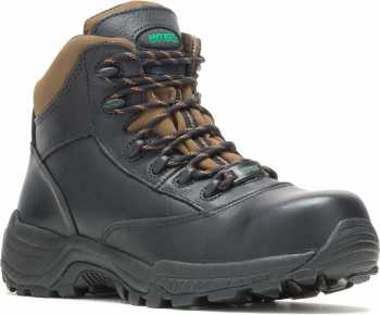 HYTEST 12170 Stout, Men's, Black, Comp Toe, EH,WP, Non-Metallic Hiker