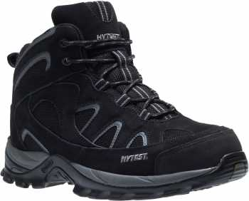HYTEST 12350 Black Electrical Hazard, Steel Toe Unisex Hiker
