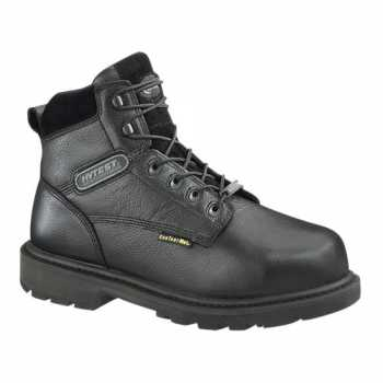HYTEST 13240 Men's, Black, Comp Toe, EH, Internal Met, WP, 6 Inch Boot