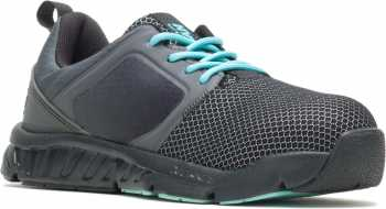 HyTest 17400 Alpha Xergy, Women's, Black, Nano Toe, SD, Low Athletic