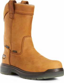 Ariat AR10027328 Turbo, Men's, Aged Bark, Carbon Toe, EH, WP, 10 Inch, Pull On Boot