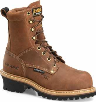Carolina CA1435 Elm, Women's, Copper, Comp Toe, EH, WP Logger