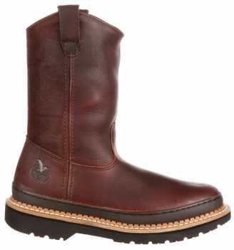 Georgia Boot GA4274 Men's, Brown, Soft Toe, Pull On Boot