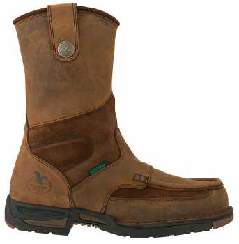 Georgia Boot GA4603 Athens, Men's, Brown, Steel Toe, EH, WP, Pull On Boot