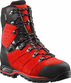 Haix HX603111 Protector Ultra, Men's, Red, Steel Toe, EH, PR, WP, 8 Inch Boot