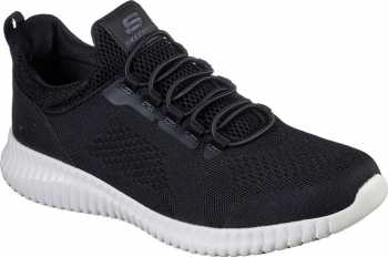 SKECHERS Work SK77188BKW Cessnock, Men's, Black/White, Soft Toe, EH, Slip Resistant Casual