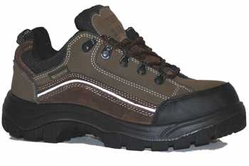Work Zone WZC440-OLIVE Men's, Olive, Comp Toe, EH, Hiker Oxford