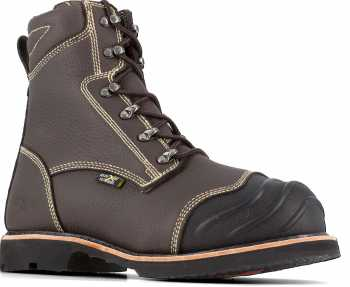 Iron Age WGIA0121 Forgefighter, Men's, Brown, Comp Toe, EH, Mt, 10 Inch Boot