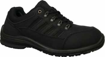Work Zone WZS473-BL, Men's, Black, Steel Toe, EH, Hiker Oxford